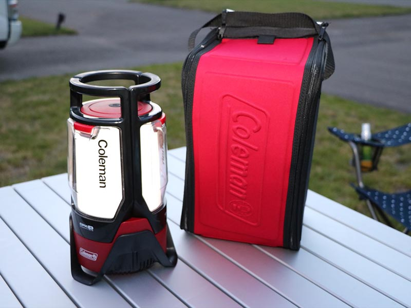 Chargeable LED lantern (COLEMAN) \500